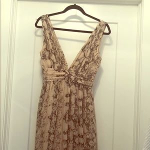 Long women's flowy dress